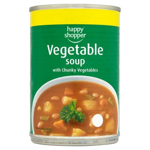 Happy Shopper Vegetable Soup with Chunky Vegetables  (UK)